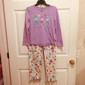 Flannel and Cotton Fairy PJs size 12